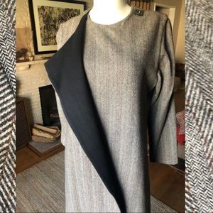 Thomas Wylde Cashmere / Wool Blend long coat M
